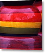 Stacked Colors Metal Print