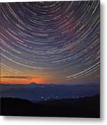 Stacking The Stars At Larch Mountain Metal Print