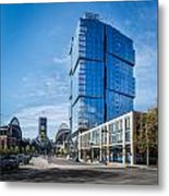 Stadium Place Apartments Metal Print