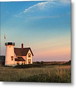 Stage Harbor Lighthouse Metal Print