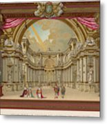 Stage-set Designs For  Productions Metal Print