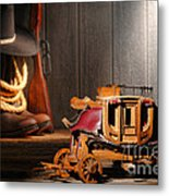 Stagecoach Dream Metal Print