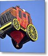 Stagecoach In The Sky Metal Print