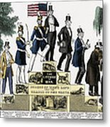 Stages Of A Mans Life  1848 Metal Print