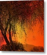 Stained By The Sunset Metal Print