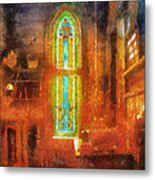 Stained Glass 05 Photo Art Metal Print