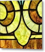 Stained Glass 3 Metal Print