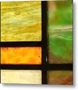 Stained Glass 5 Metal Print by Tom Druin