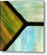 Stained Glass 6 Metal Print by Tom Druin