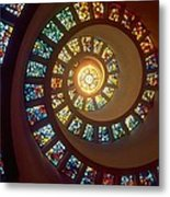 Stained Glass Metal Print by Gianfranco Weiss