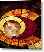 Stained Glass Art Metal Print