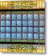 Stained Glass At Md State House Metal Print