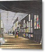 Stained Glass Gallery, From Dickinsons Metal Print