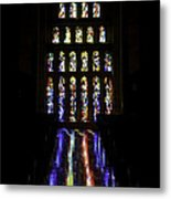 Stained Glass II Metal Print
