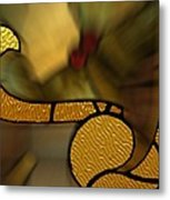 Stained Glass Lc 02 Metal Print