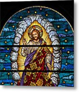 Stained Glass Pc 03 Metal Print
