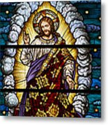 Stained Glass Pc 04 Metal Print