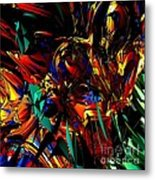 Stained Glass - Saphir Metal Print