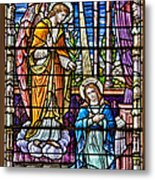 Stained Glass Metal Print by Susan Candelario