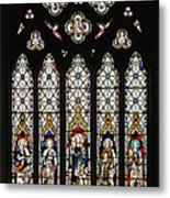 Stained-glass Window 1 Metal Print