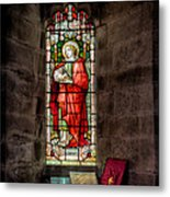 Stained Glass Window 2 Metal Print