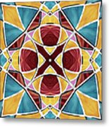 Stained Glass Window 5 Metal Print