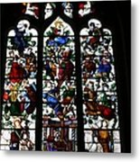 Stained Glass Window I Metal Print