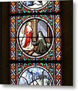 Stained Glass Window Iv Metal Print