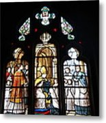Stained Glass Window V Metal Print