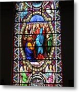 Stained Glass Window Viii Metal Print