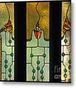 Stained Glass Windows Metal Print