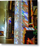 Stained Light Metal Print