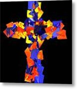 Stained Tries 16 Metal Print
