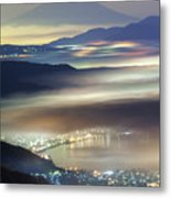 Staining Sea Of Clouds Metal Print