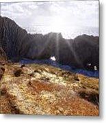 Stair Hole Cove Dorset Metal Print
