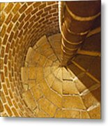 Staircase In Stone Metal Print
