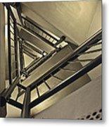 Stairing Up The Spinnaker Tower Metal Print