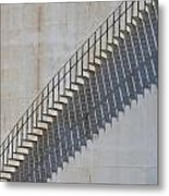 Stairs And Shadows 1 Metal Print