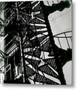 Stairs And Shadows Metal Print