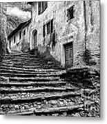 Stairs To Lavertezzo Metal Print