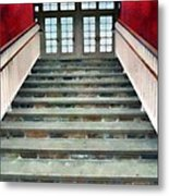 Stairs To The Barn Metal Print