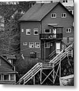 Stairs Up To Home Metal Print