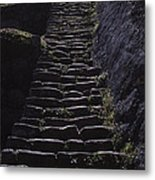 Stairway At Machu Picchu Metal Print