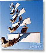 Stairway To Another Dimension Metal Print