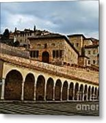 Stairway To Assissi Metal Print