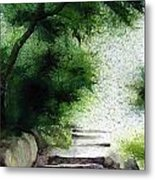 Stairway To Heaven... At Nandi Hills Metal Print