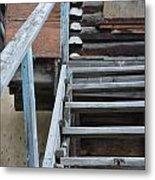 Stairway To Humdrum Metal Print
