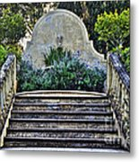 Stairway To Nowhere Metal Print by Kaye Menner