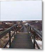 Stairway To The Atlantic Metal Print