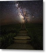 Stairway To The Galaxy Metal Print